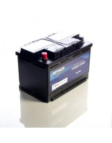 BATTERY SPYKER POWER START 12V 74Ah 660A + LEFT